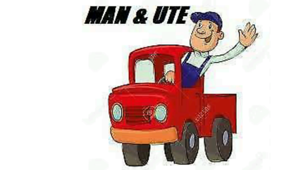 Man and ute hire 24/7 fast response