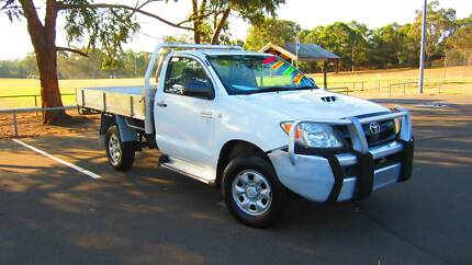 2007 Toyota Hilux KUN26R SR Cab Chassis Single Cab !! Heavy Duty!