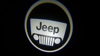 WIRELESS Jeep ghost LED door logo puddle lights BATTERIES INCLUDED Best quality