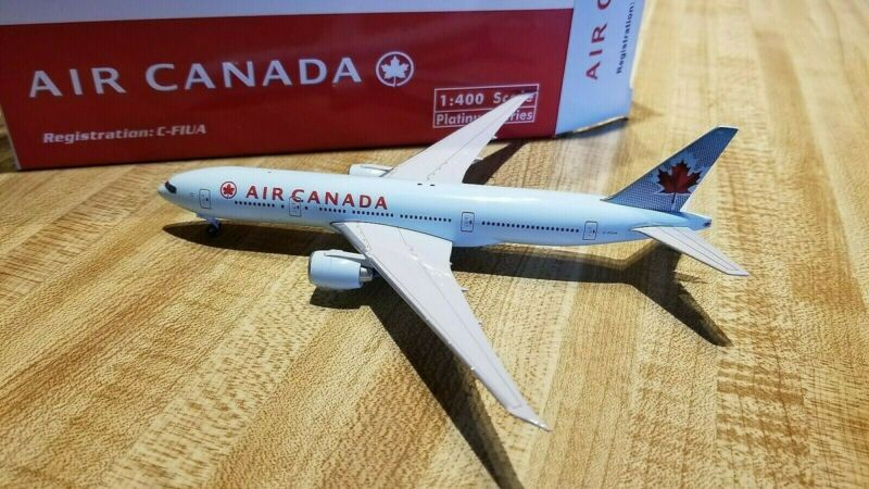 Phoenix Models Air Canada B 777-233LR 1:400 PH4ACA383 2004s Colors  C-FIUA