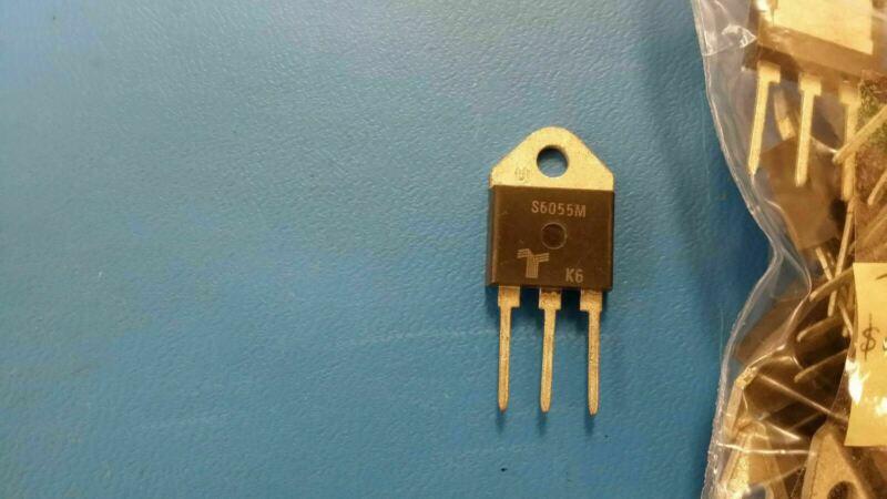(1 PC) S6055M TECCOR SCR NON-SENS 600V 55A TO-218