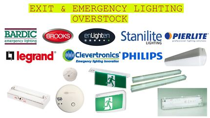 BULK EXIT AND EMERGENCY LIGHTS FOR SALE Beacon Hill Manly Area Preview