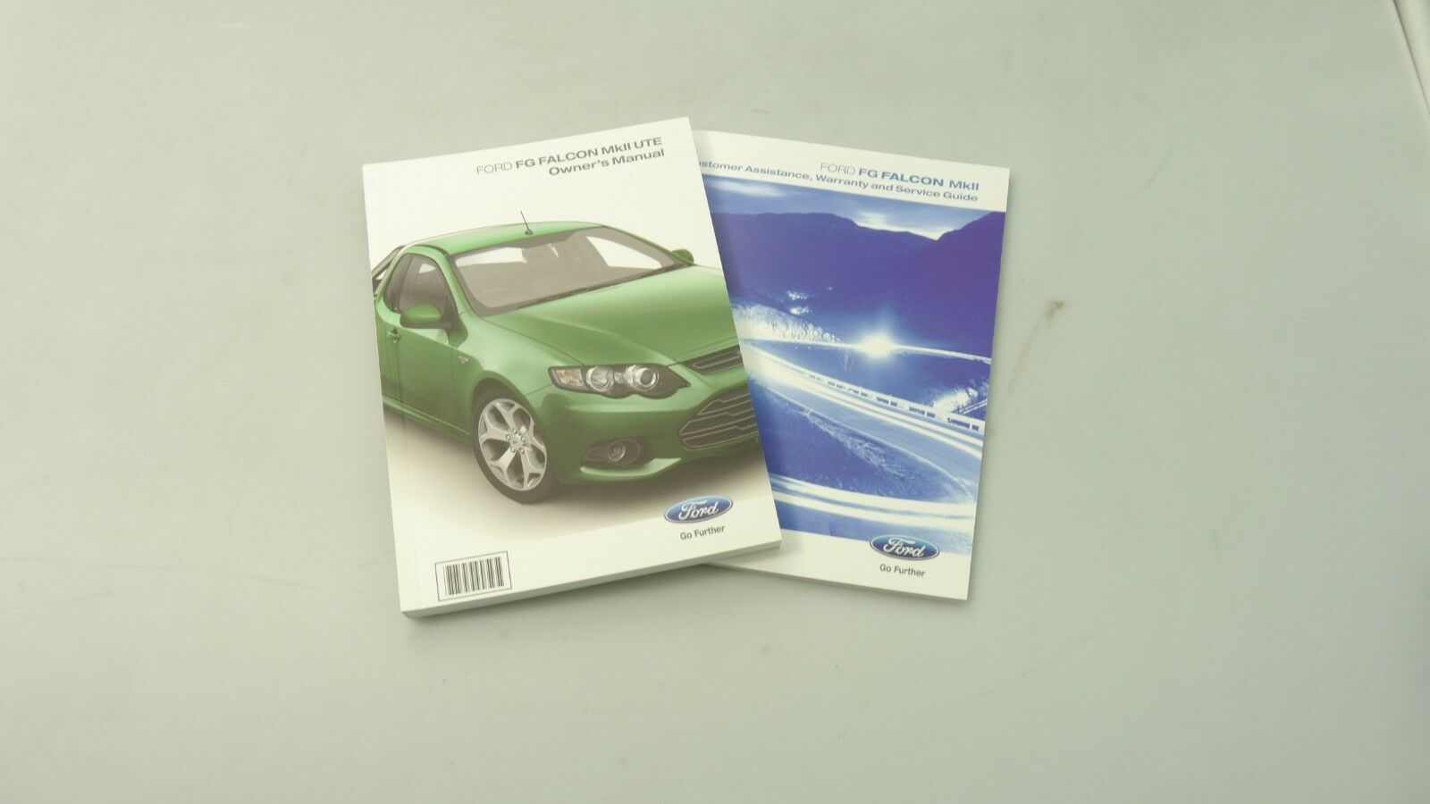 GENUINE FORD FALCON FG MK2 OWNERS MANUAL BOOK KIT (UTILITY)
