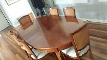 """Classic Fanuli """" Grande Arredo"""" dining table and 6 chairs Point Clare Gosford Area Preview"""