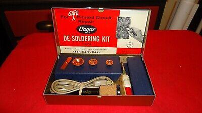 Vintage Ungar De Soldering Kit 270