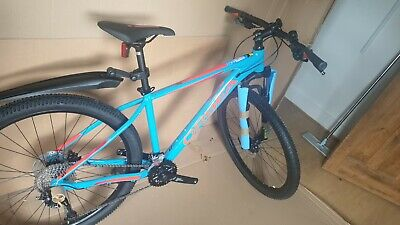 Orbea MX 40 27.5/29er 2021 Hardtail Mountain Bike - Bondi Blue/Red