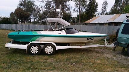 Stephens magic 2002 20ft low 177hrs  ski boat  Pyramid Hill Loddon Area Preview