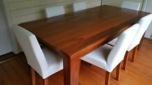 Dining  Table with six chairs Pascoe Vale South Moreland Area Preview