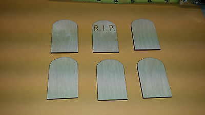 TOMBSTONE shape  -unfinished wood craft - laser cut - Halloween - DIY](Halloween Tombstone Shapes)