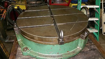 25 Troyke T-slotted Rotary Table Model Bh-25