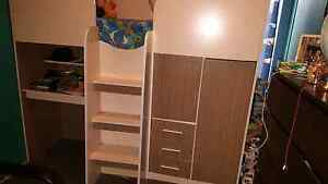 Loft bed with desk and storage Matress Not Included Leppington Camden Area Preview