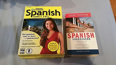2011 Version Instant Immersion Spanish Levels 1  2 And 3With Living Language Spa
