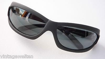 Resistor matt schwarz Sportbrille dunkle Gläser Sonnenbrille durchgebogen size M ()