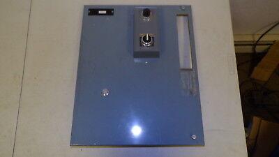 Allen Bradley Enclosure Panel W Switch 19-12x15-58 Hole Size 8-14x1-12