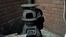 Cast Iron Pot Belly Stove/Wood Heater Cannington Canning Area Preview