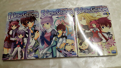 * Tales of Graces Manga Doujinshi Comics Anthologie Band 1-3 Set jap. Top* Japan