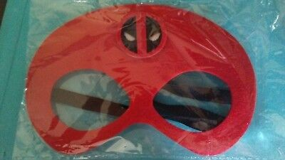 Dead Pool Face Felt masks  Halloween Costume Birthday Party Favor Photo fits all