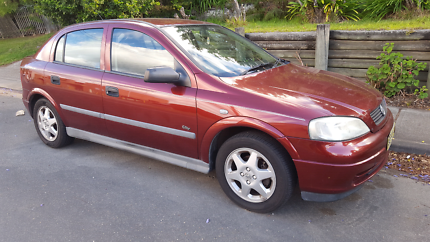 Holden Astra Wrecking TS Hatch 1999 Red Burgundy Auto