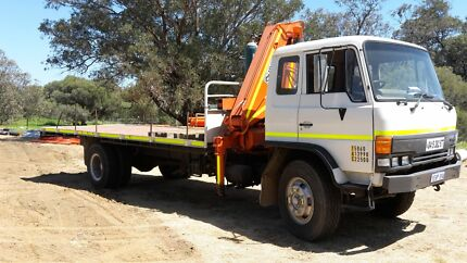 BARGAN . Hyno 8 tonne truck with big hiab Kenwick Gosnells Area Preview