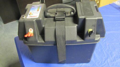 SeaSense Trolling Motor Battery Box Power Center 12V Plug Battery Test Button