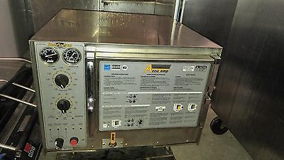 Accu-temp Steam-n-hold 3 Pan Counter Or Rack Steam Oven Very Clean