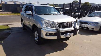 2010 Toyota Landcruiser Prado Gxl Wagon AUTO TURBO DIESEL Williamstown North Hobsons Bay Area Preview