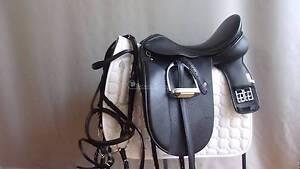 "Anky Salinero 18"" Dressage Saddle PLUS EXTRAS Morphett Vale Area Preview"