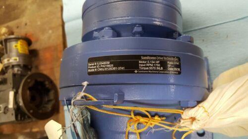 Sumitomo CNHJ-6125DBY-3741 Inline Gear Reducer Ratio:3741