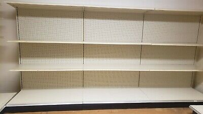 Gondola Shelving Wall Units Metal Shelves Grocery Store Shelves