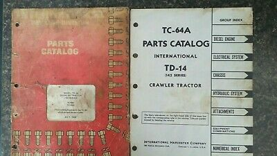 International Harvester Original Publication Parts Manual Td14142 Seriestc64a