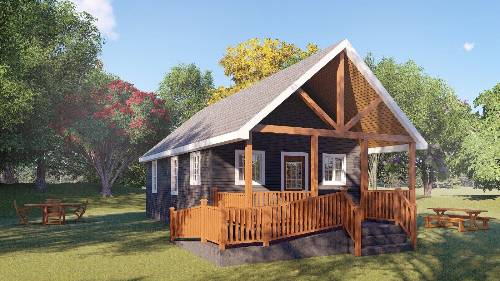 The Oasis Tiny House by Larry's Home Designs