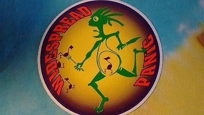 Widespread Panic Running Musical Note Man 5 Inch Sticker