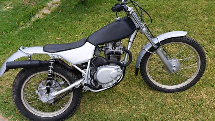 TL250 Honda trials bike