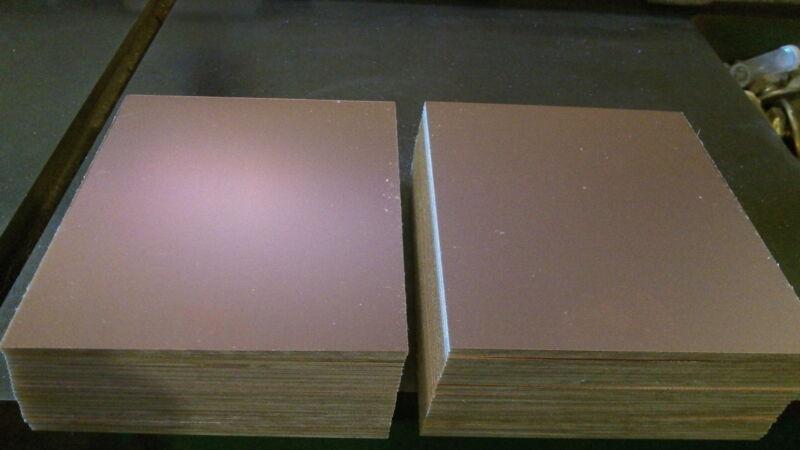 6 pcs Double Sided Copper Clad Laminate PC Boards FR-4, .060, 3 1/2 x 6, 1 oz.