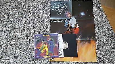 Wetter-vinyl (Frank Zander - Donnerwetter Vinyl LP MIT POSTER)