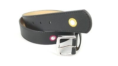 $34 Juicy Couture Black Belt Small w/ Colored Circles along the belt. New
