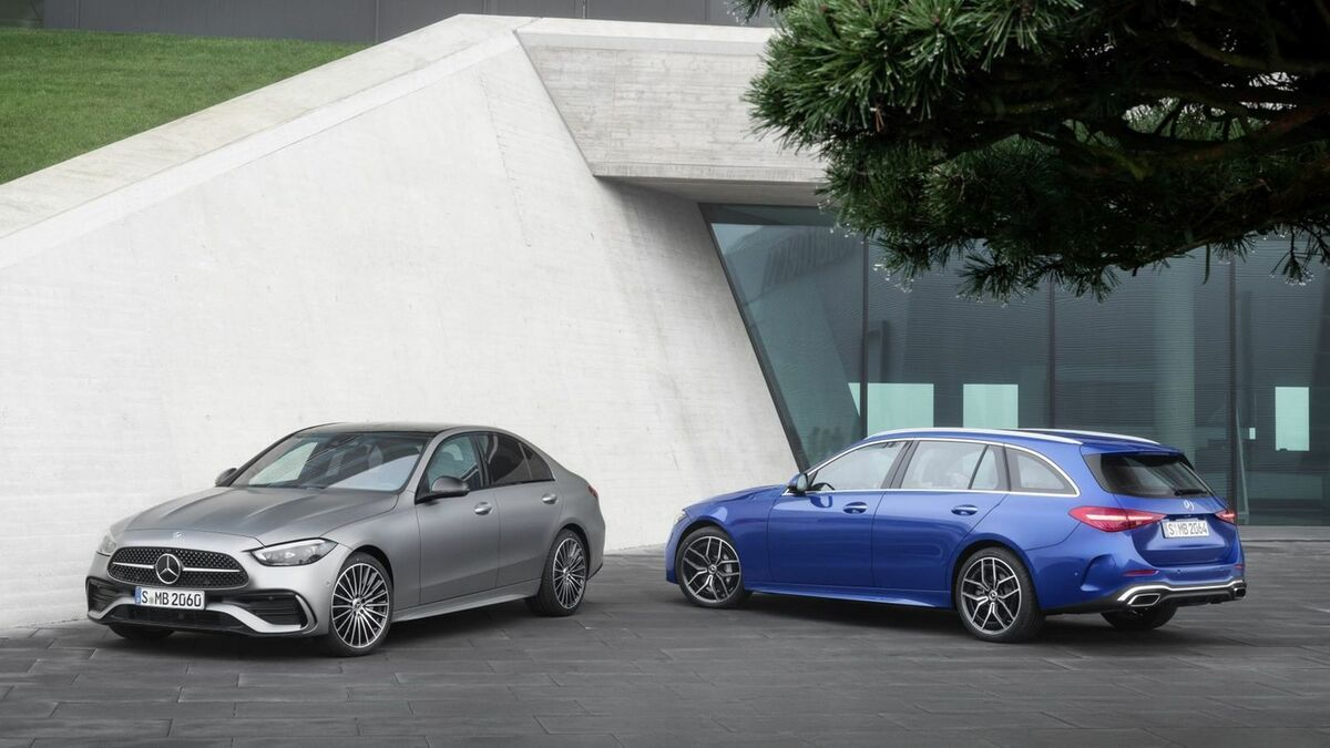Mercedes C-Class 2021 T-Model and Sedan