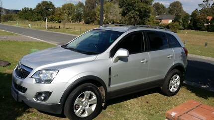 2012 Holden Captiva Series II 5 Wagon Automatic Meadowbrook Logan Area Preview