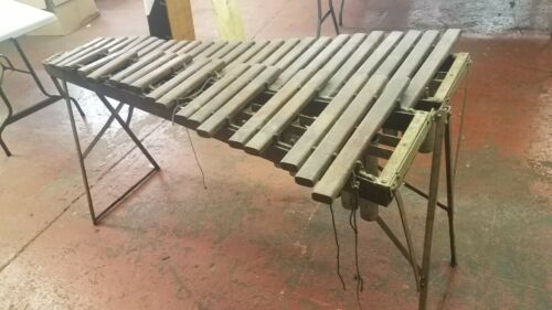 Vintage The Liberty Chime Products Chicago USA Wooden Xylophone RARE!