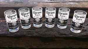 6 Corona beer glassses Cloverdale Belmont Area Preview