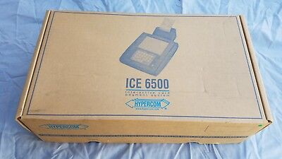 Hypercom Ice 6500 Interactive Card Reader System W Ps....new Condition