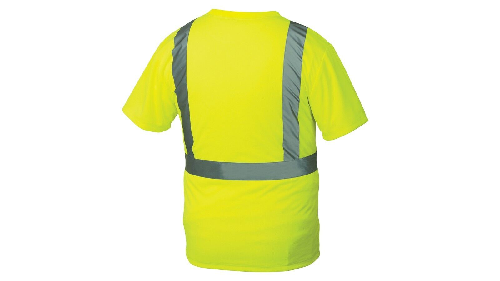 Pyramex RTS2110 Type R Class 2 Safety T-Shirt W/ Chest Pocket, Size M – 5XL Clothing, Shoes & Accessories