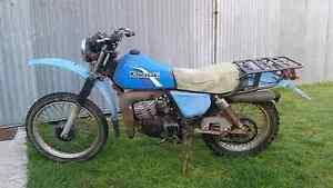 Kawasaki AG bike for parts or repair Ulverstone Central Coast Preview