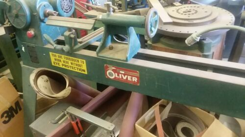Oliver 3 1/2 Bed Wood Lathe Machine No 2159