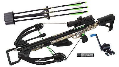 2602 Carbon Express PileDriver 390 Crossbow Package w/ Cranking Device  20310