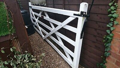 5 Bar Gate 3.3 Metre With Iron Mongary Attached