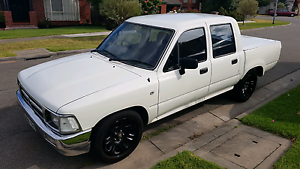 TOYOTA HILUX UTE TWIN CAB UTE 1994 Mill Park Whittlesea Area Preview