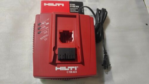 Hilti  7/36,ACS , 36 V. battery charger 110-120 Volts (USED)