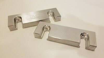 6 X 2 X 1 Quick Change Aluminum Soft Jaws For Kurt 6 Vises And Similar Brands