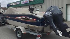 2005 Princecraft Pro 196 with Yamaha F150 and T8